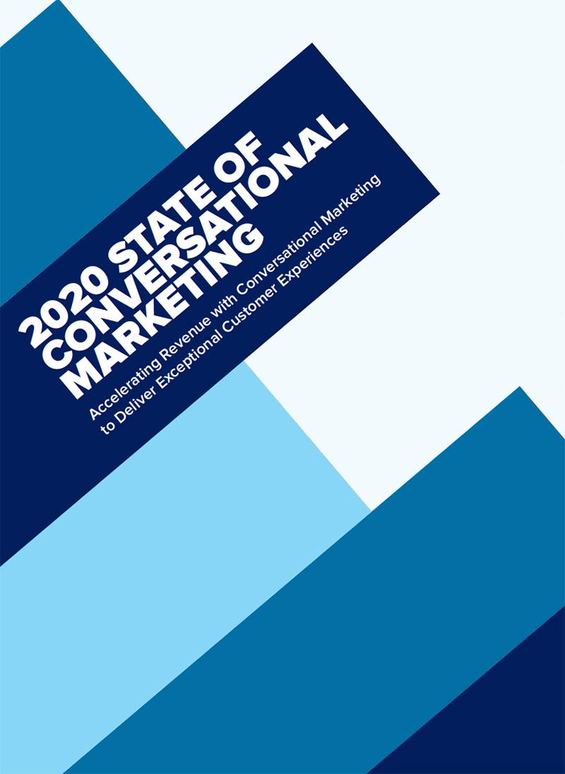 外贸开发信电子书:2020年Conversational Marketing对话式营销的现状