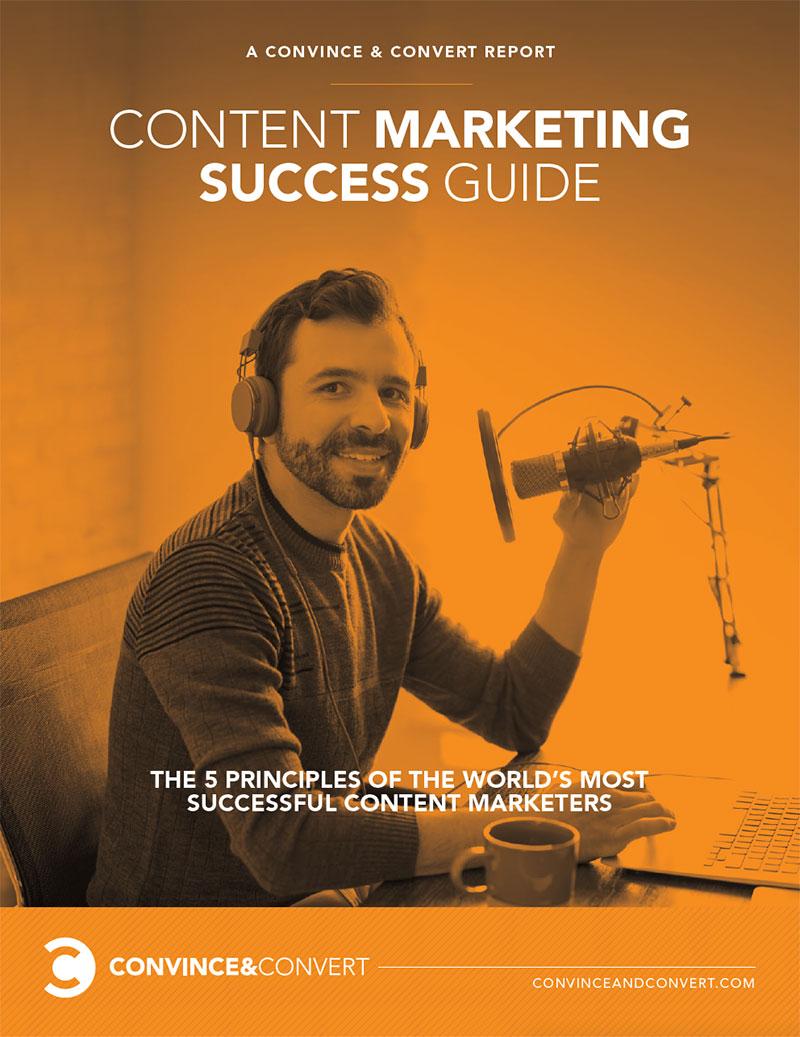 外贸开发信电子书:内容营销成功手册——世界上最成功内容营销商的5大原则