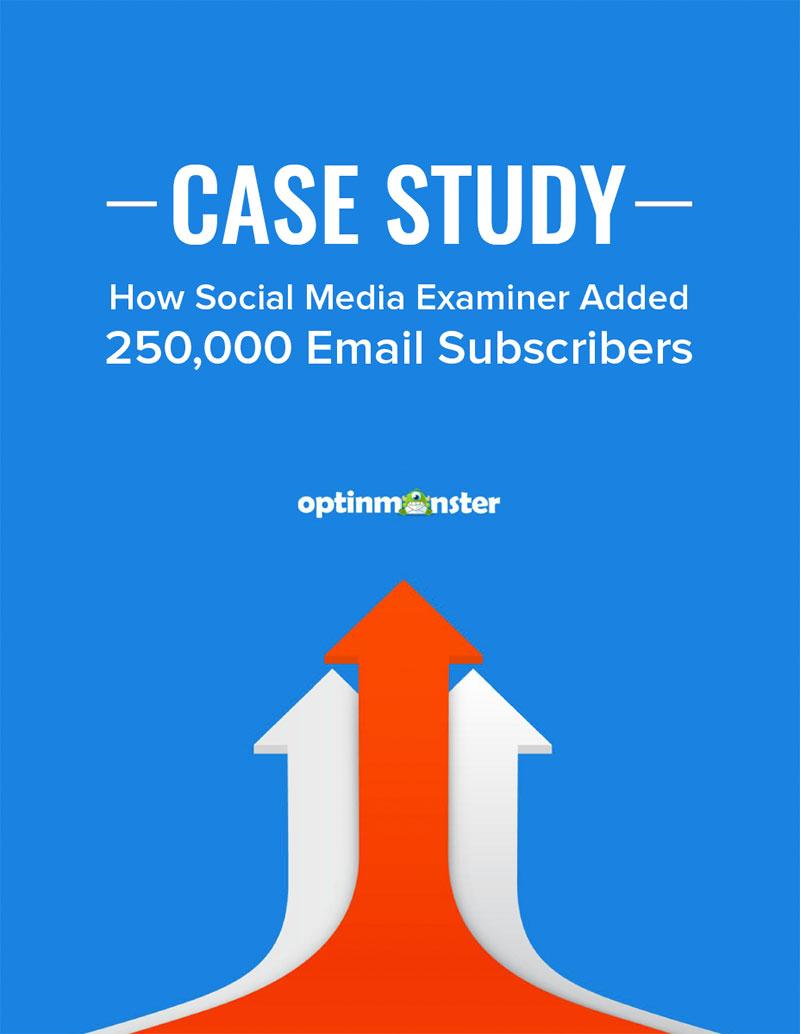 外贸开发信电子书:Case Study:这个网站如何增加了25万个邮件订阅者?